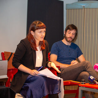 10th Biennial of Puppetry Artists of Slovenia - Press Conference <em>Photo: Boštjan Lah</em>