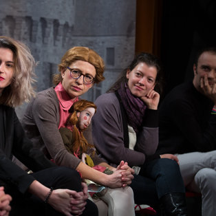 The Seamstress and the Scissors - Press Conference <em>Photo: Boštjan Lah</em>