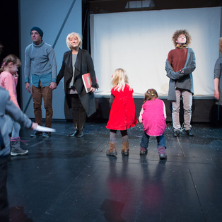 The House That Ran Away - Public rehearsal and discussion <em>Photo: Boštjan Lah</em>