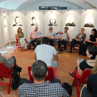 Summer Puppet Pier 2012 - Press Conference <em>Photo: Matej Kristovič</em>