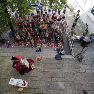 Summer Puppet Pier 2014 <em>Photo: Boštjan Lah</em>