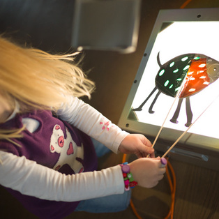 Shadow Puppet Theatre - Puppet Workshop for children