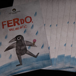 Ferdo, the Giant Bird - Press Conference <em>Photo: Boštjan Lah</em>