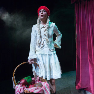 Red Riding Hood <em>Photo: Boštjan Lah</em>